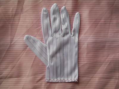 HT182B ESD Stripe gloves_common quality